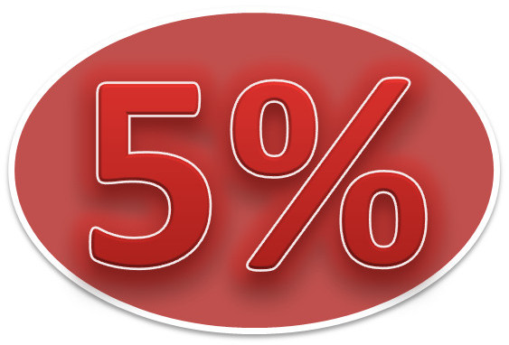 Sensory Processing Disorder - SPD - 5 percent