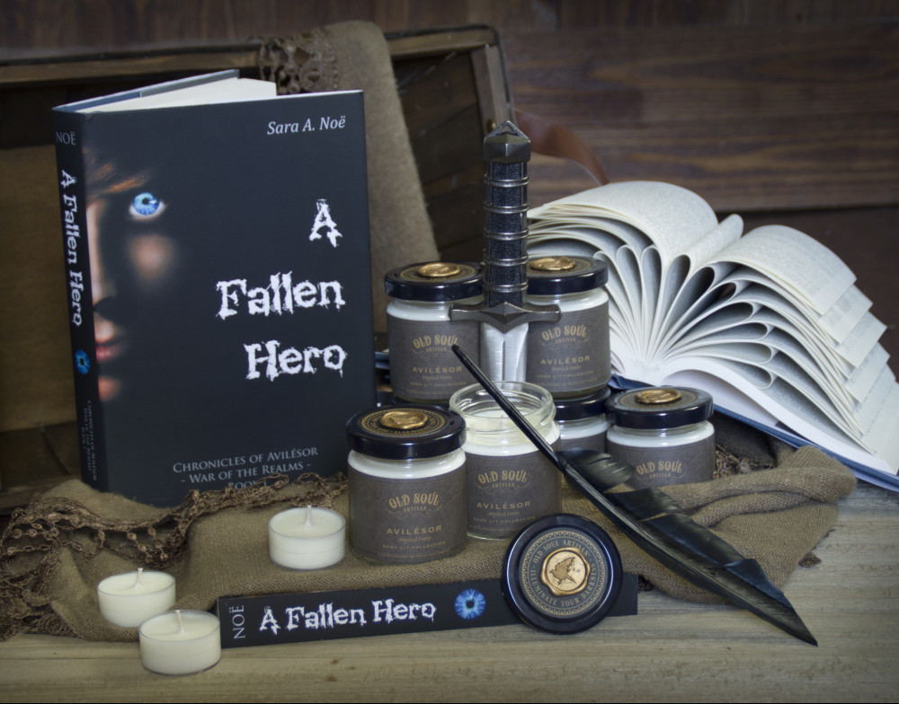 Chronicles of Avilesor: A Fallen Hero with candles