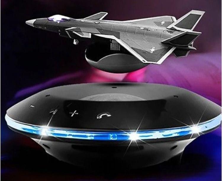 Floating Fighter Jet Levitation Speaker