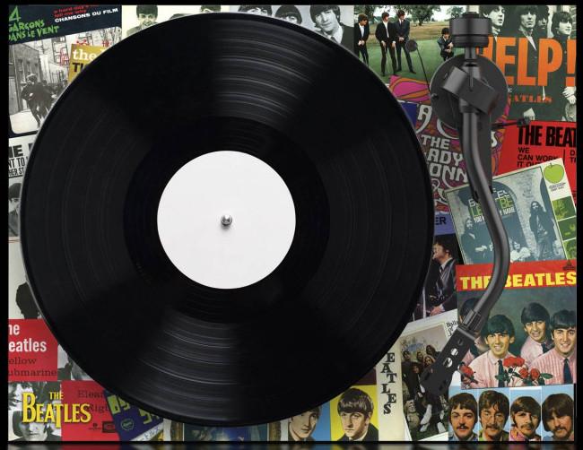 Beatle The Singles Turntable