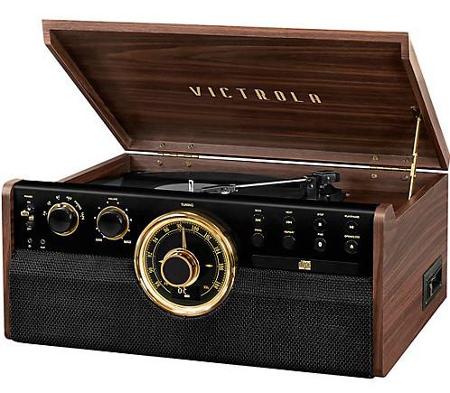 keyword - Victrola Mid Century Record Player