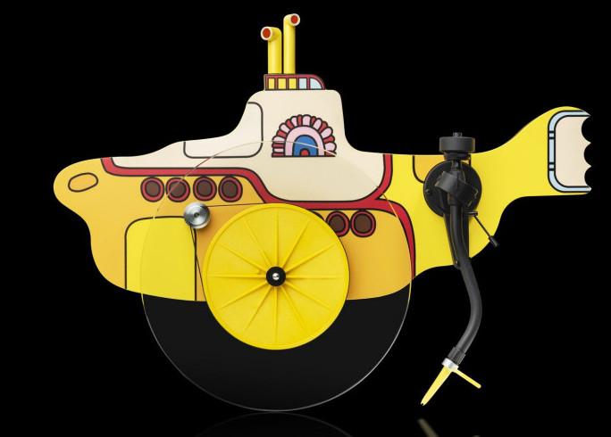 Yellow Submarine Turntable
