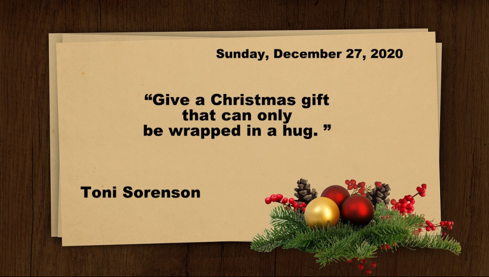 Sunday Christmas quote