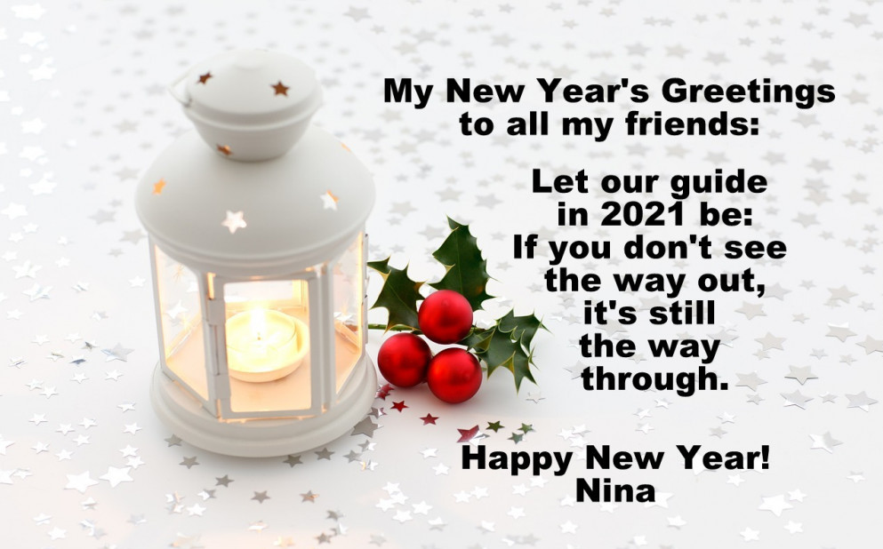 new year's greetings