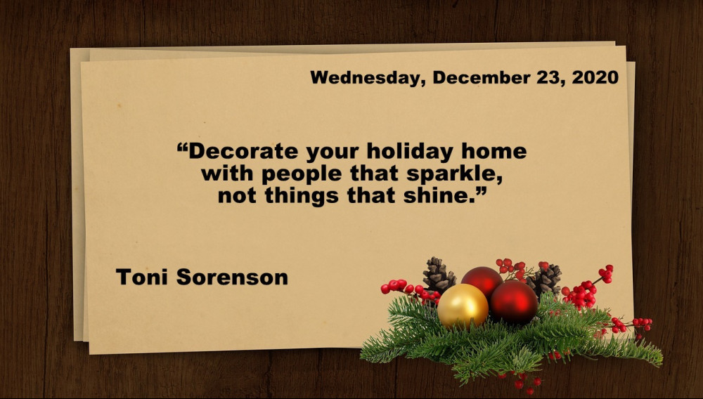 Wednesday Christmas quote
