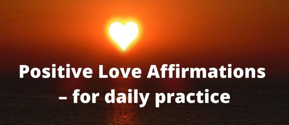 positive love affirmations