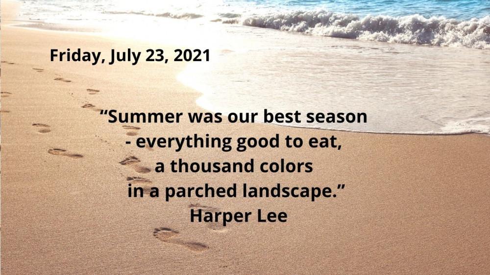 july 23