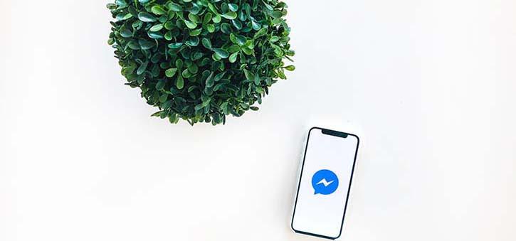 An image representing Facebook Messenger.