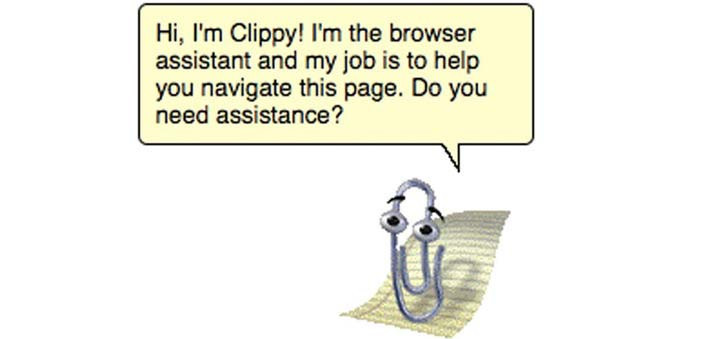 Microsoft Clippy is available today as a Chrome Extension.