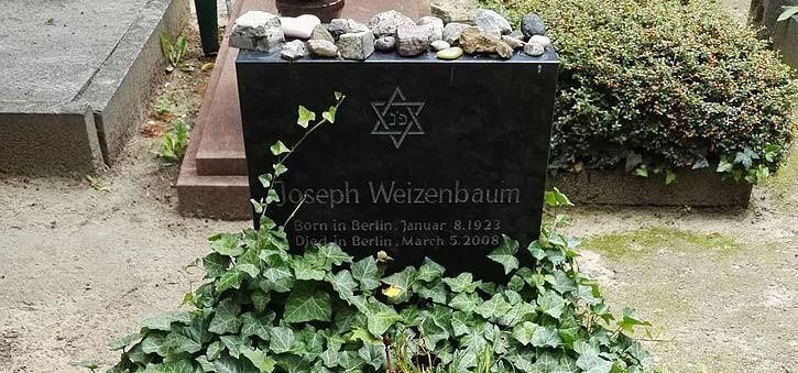 Joseph Weizenbaum's Tombstone.