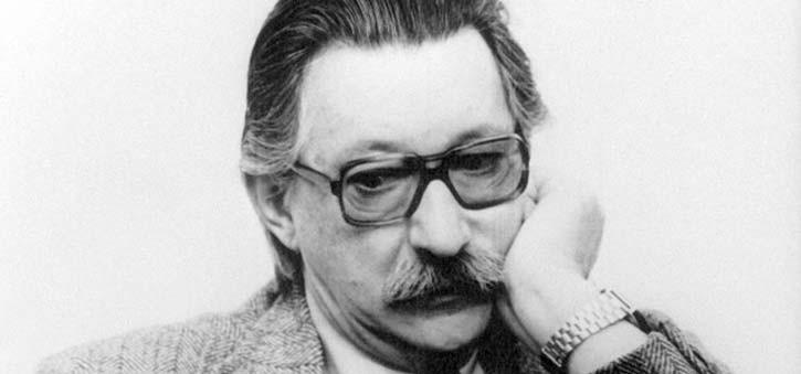 A photo of Professor Joseph Weizenbaum.