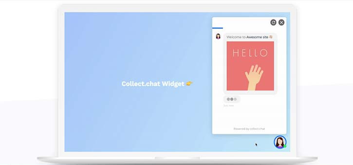 Collect.chat offers a great no-code solution for creating a marketing chatbot.