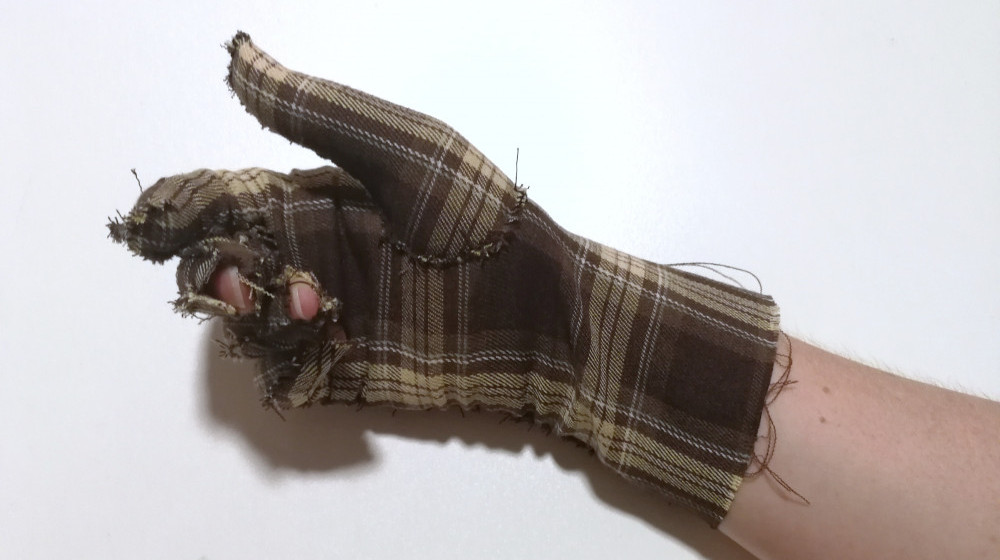 mistakes hand glove myembroiderypassions