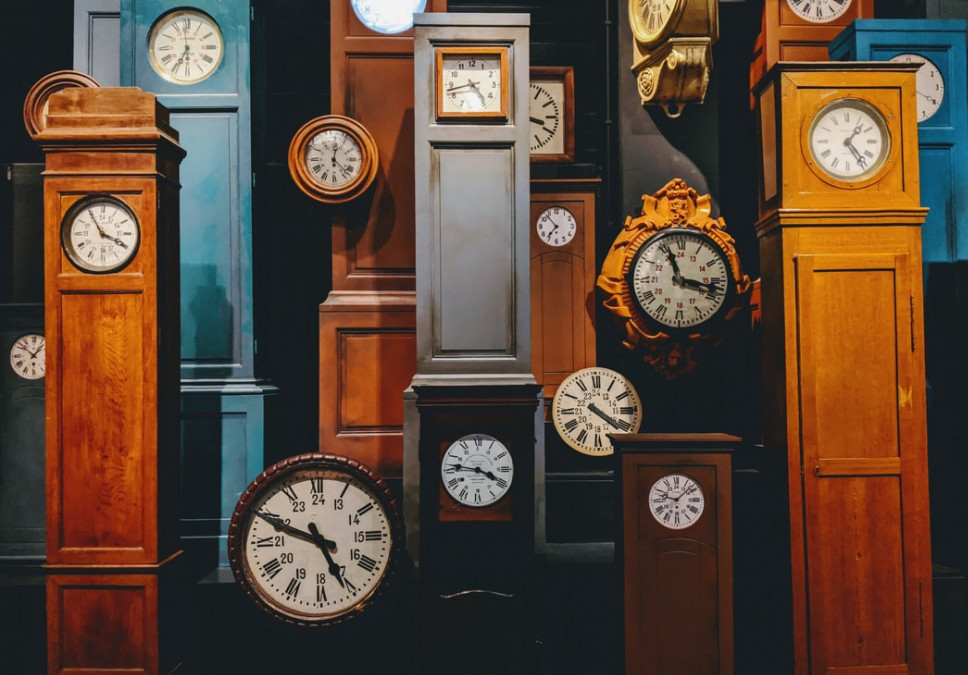 A bunch of clocks