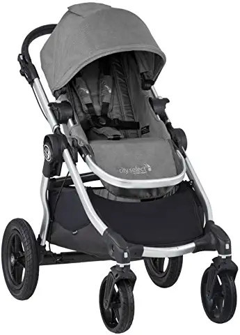 Baby Jogger City Select Stroller - Slate with Silver Frame