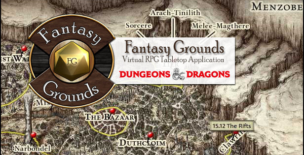 fantasy grounds dungeons and dragons
