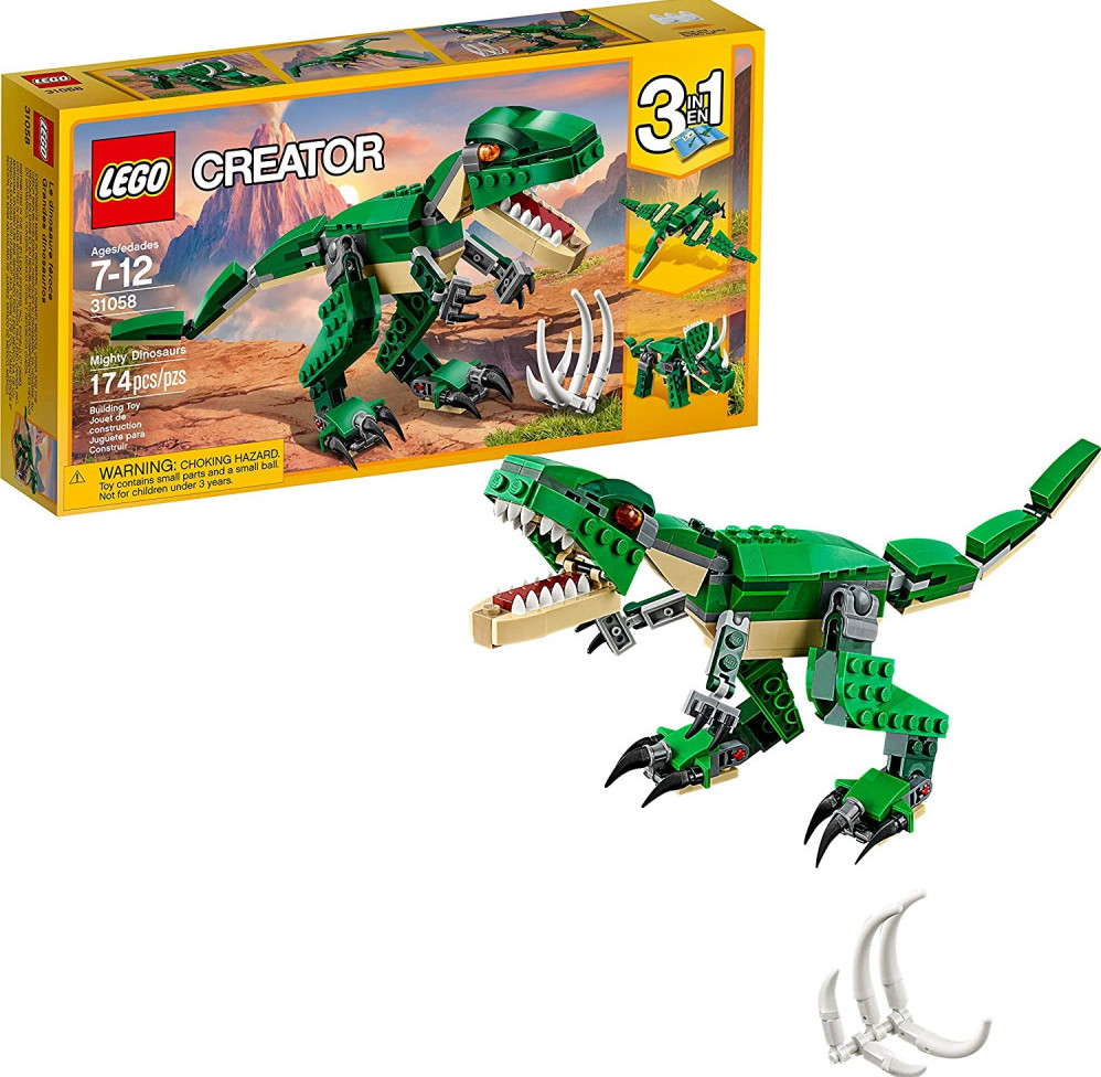 Lego Creator Mighty Dinosaurs 31058 Build It Yourself Toy Set