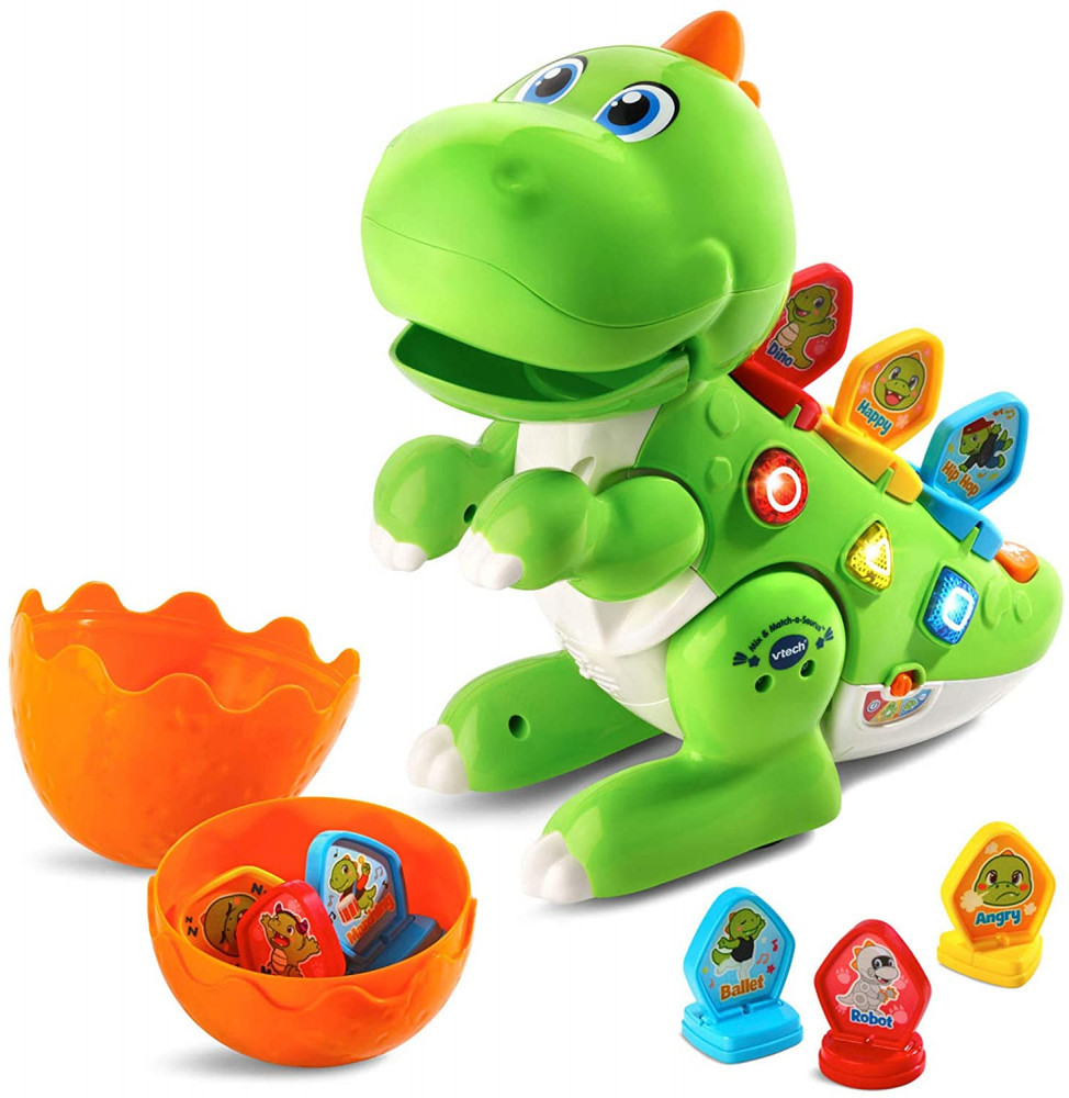 Vtech Mix And Match-a-Saurus Dinosaur Toys For Kids