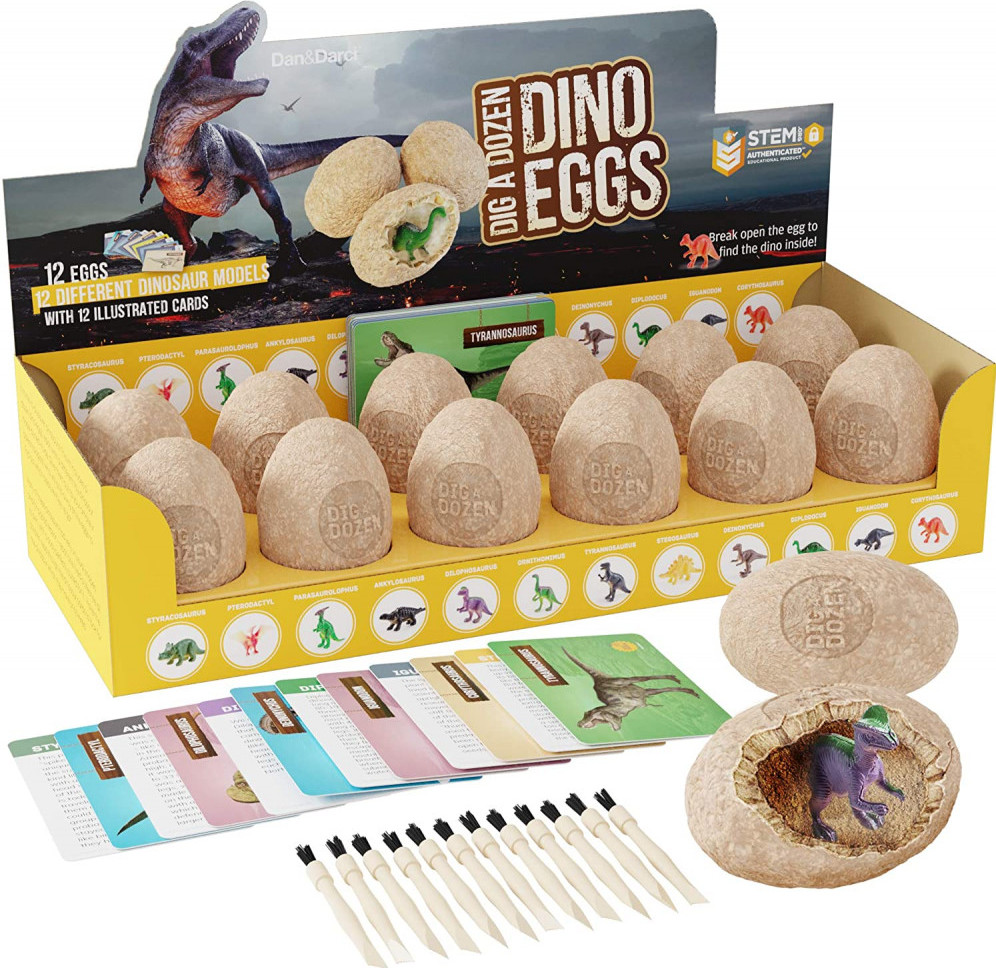 Dan & Darci Dino Egg Toy