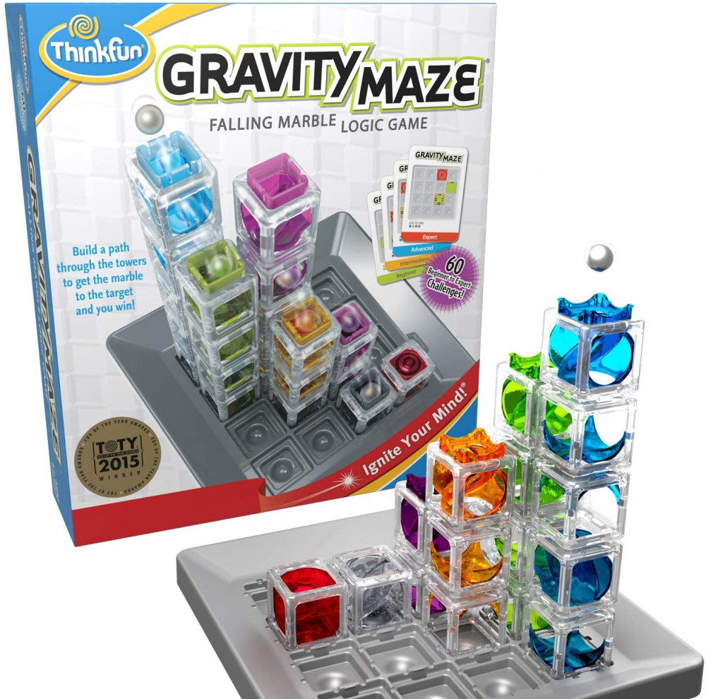 Best Stem Toys For Girls Think Fun Gravity Maze Marble Run Logic Game