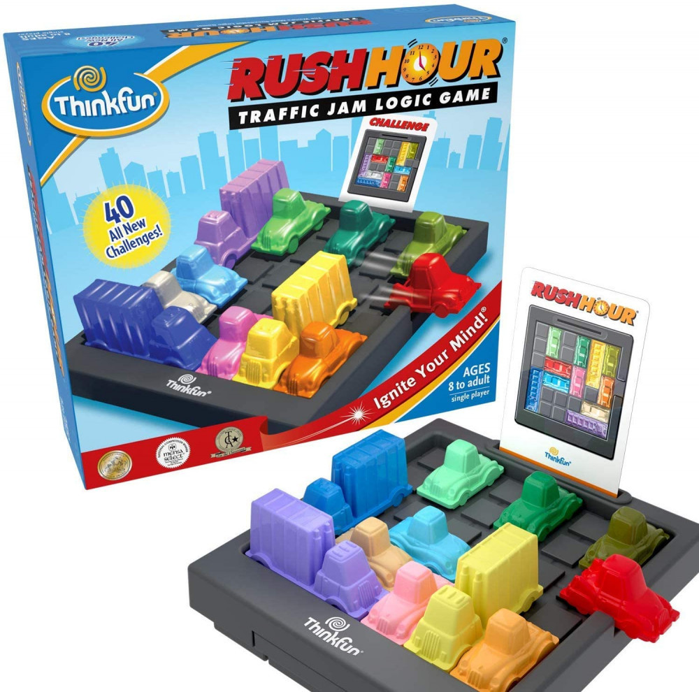 Best Stem Toys For Girls Think Fun Rush Hour Traffic Jam Logic Game