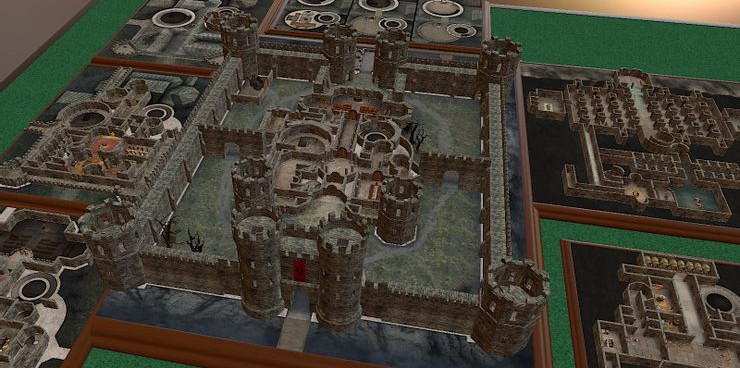 Tabletop Simulator dungeons and dragons