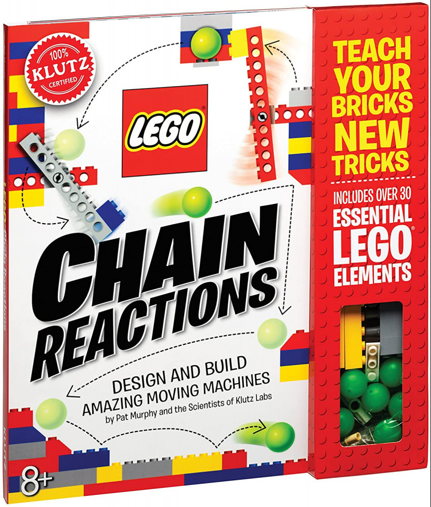 Best Stem Toys For Girls Klutz LEGO Chain Reactions Craft Kit