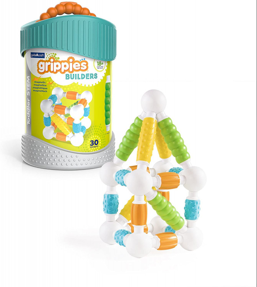 Best Stem Toys For Girls Guidecraft Grippies Builders