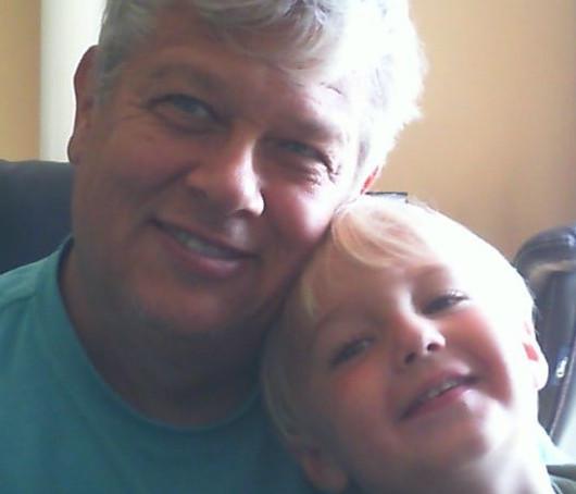 toddler sleep training - Pop Pop and Mason