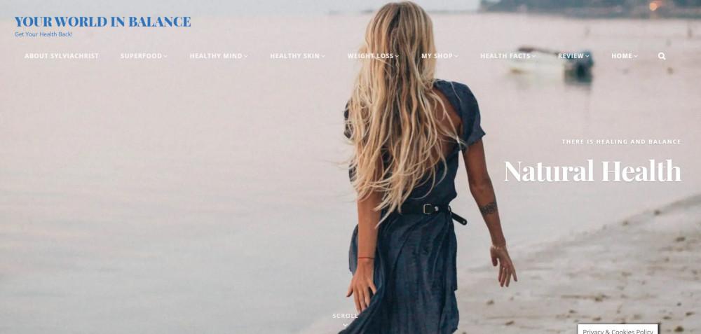 screenshot your world in balance.com