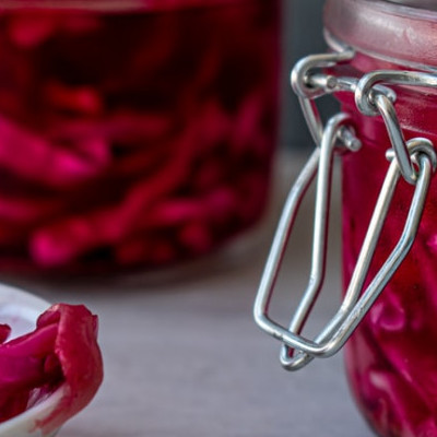 ,The Benefits of Fermented Food- Powerful, fermented red cabbage