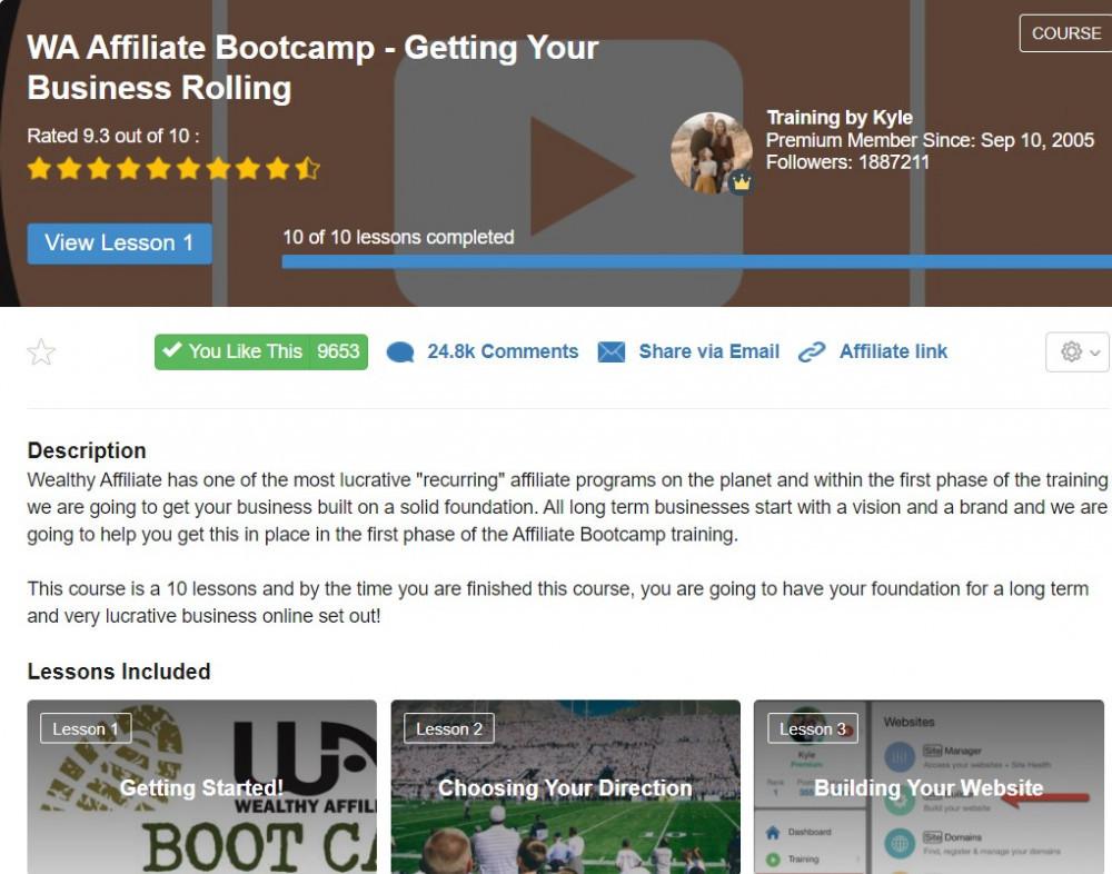 WA Affiliate Bootcamp lesson1