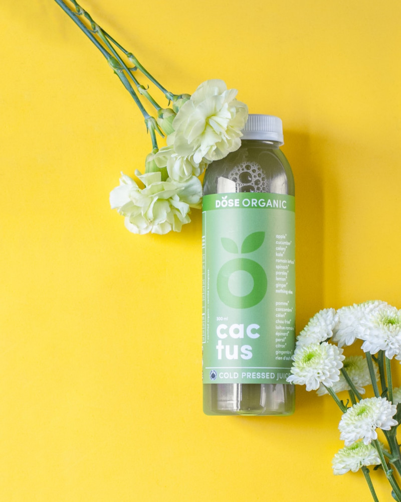 organic bottle with cosmetic, bath oil
