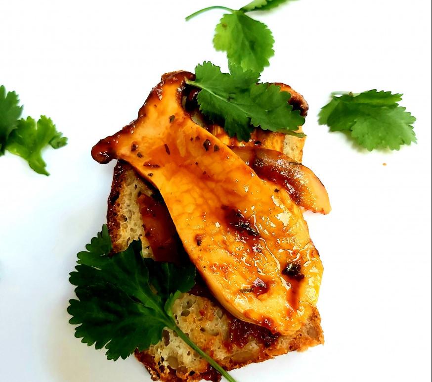 Oyster Mushroom Sandwich