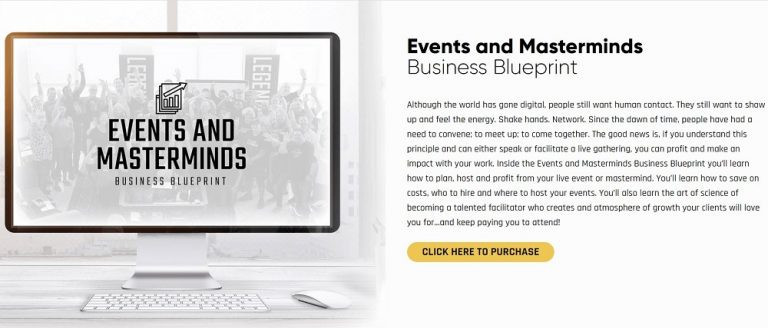 Events аnd Masterminds Business Blueprint
