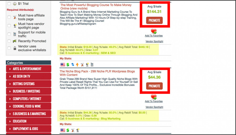 clickbank-search