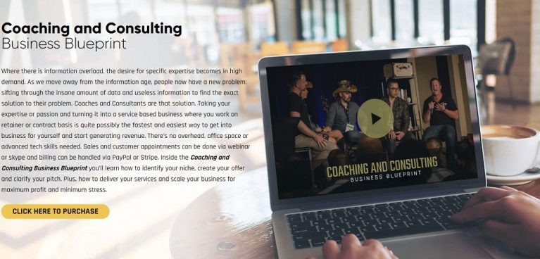 Coaching аnd Consulting Business Blueprint