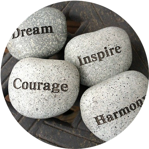 These are a few smooth sauna stones each engraved with their own virtues; Harmony, Courage, Inspire, and Dream to help with the motivation of any beginning affiliate marketers who read this article. It is also in hopes that they are able to gather a business mindset moving forward. If you click on the image, it is linked to an Amazon page with meditational and motivating music the reader may be further interested in. You will find a whole album of 432 HZ tones, one of the authors favorite tunes to get into a mellow state.