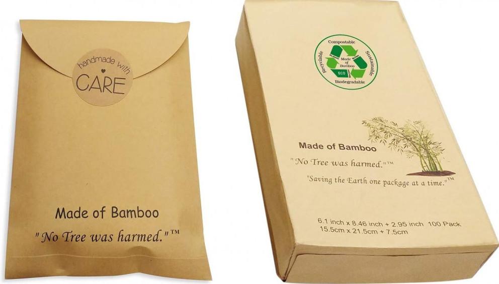 Bamboo mailers