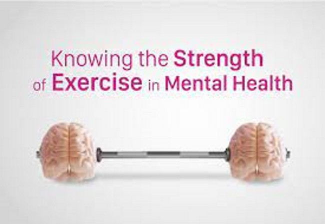 Exercise is mental health image