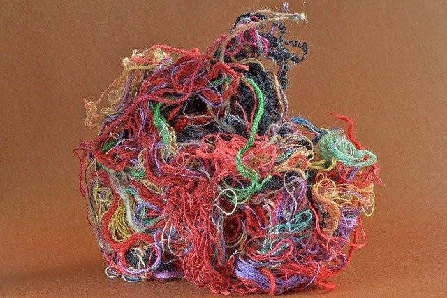tangle of yarn