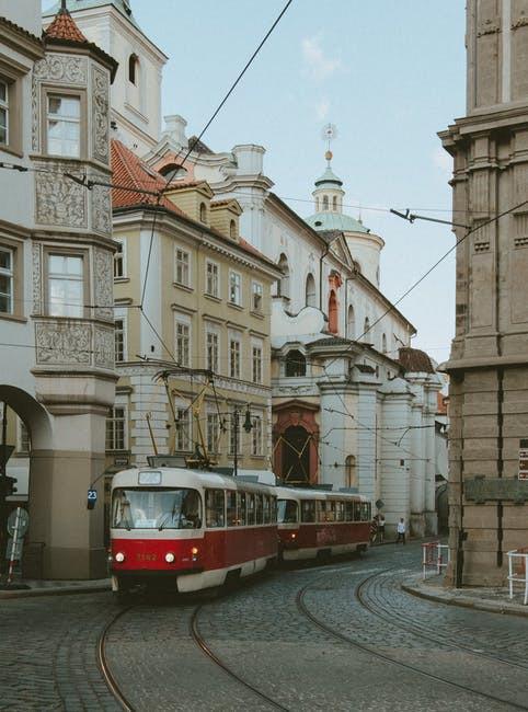 tram in czech republic