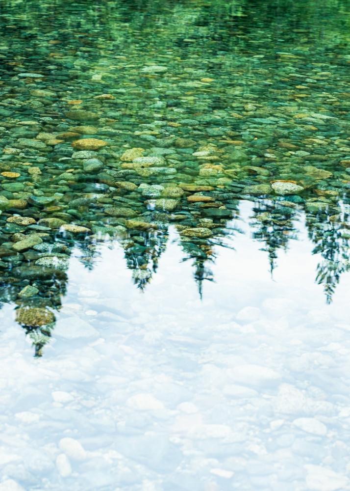 See-through lake
