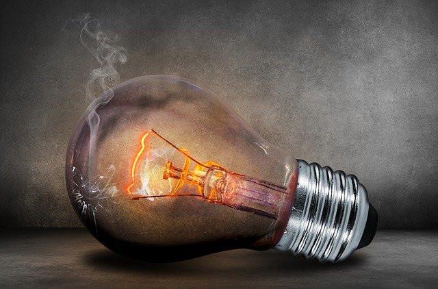 Sizzling lightbulb