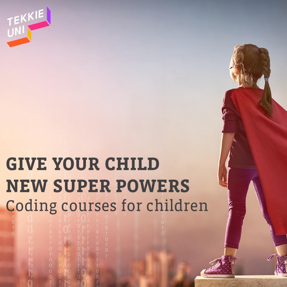 tekki uni, coding for kids