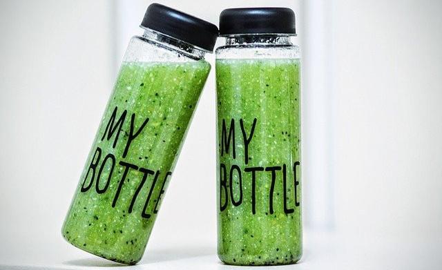 calorie dense greens smoothie