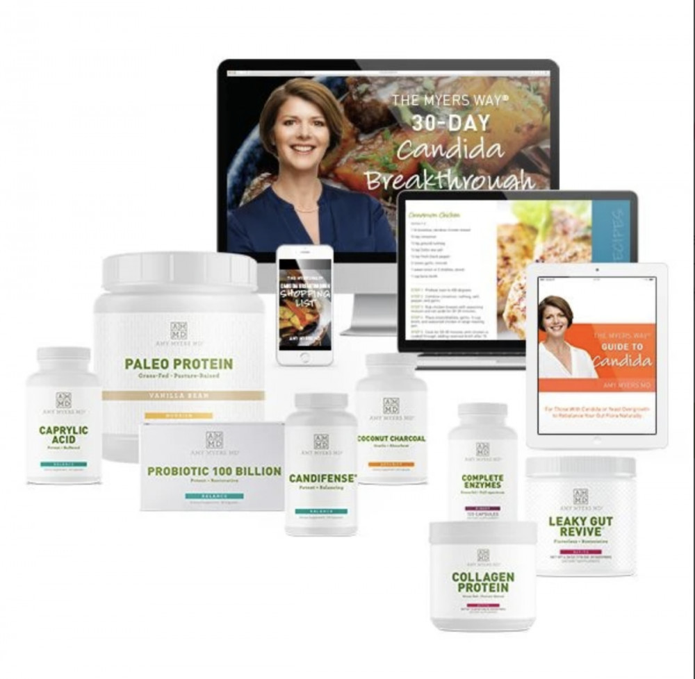 The Myers Way 30-Day Candida Breakthrough Program