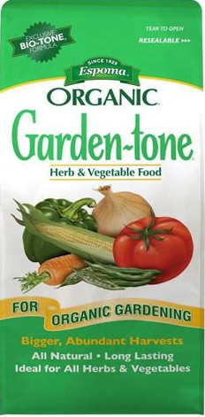 Garden-Tone Organic Gardening for Herbs and Vegetables