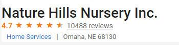Nature Hills Nursery Reviews