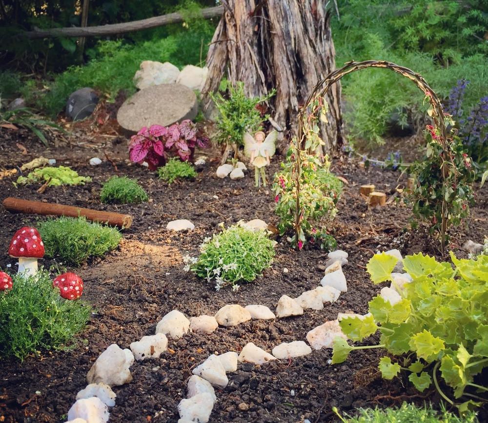 Fairy Garden on the ground